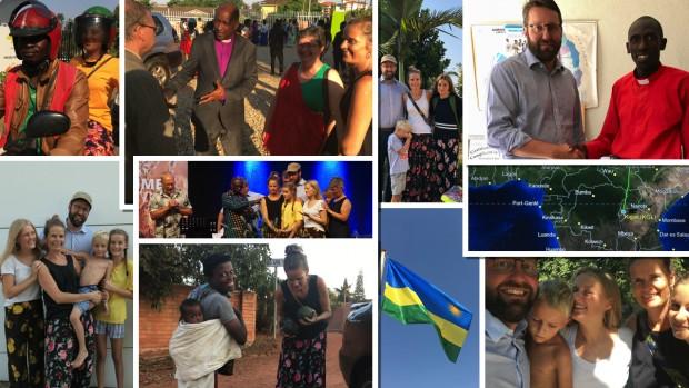 Udsendte til Burundi og Rwanda