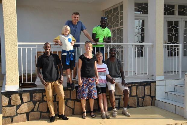 Familien Hylleberg er vendt hjem