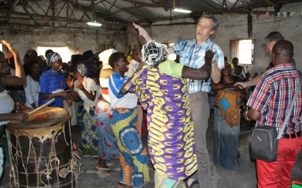 Familien Kofoed på plads i Burundi
