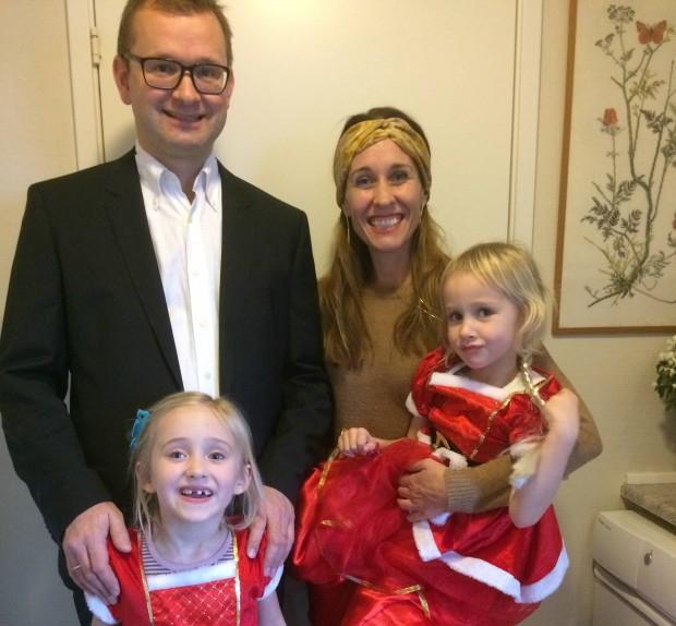 Morten Kofoed tager familien med