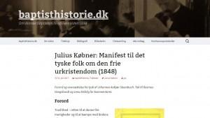 Købners skrift om kirke og religionsfrihed på dansk