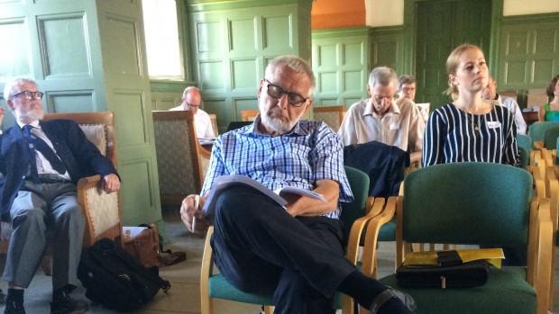Bent Hylleberg i forretningsudvalget i DKR