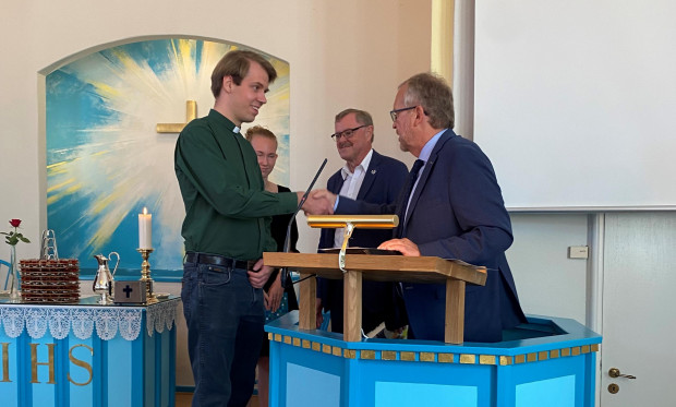 Christian Sofussen indsat i Vaarst