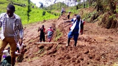 Jordskred i Burundi koster liv