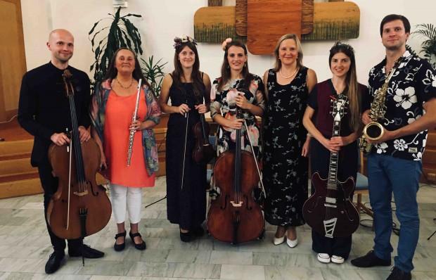 Koncerter med familien Ozolini