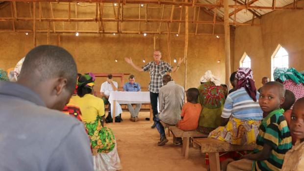 Kirkevækst i Burundi