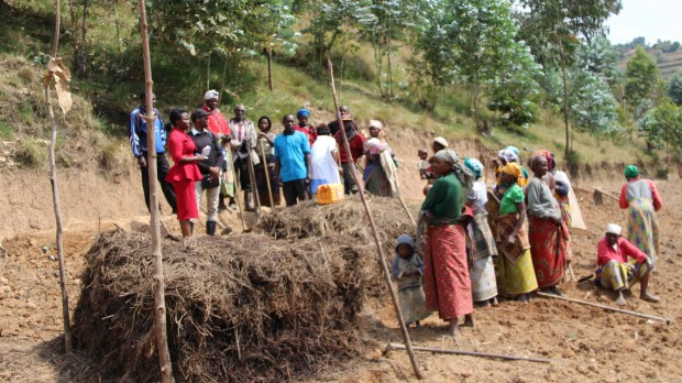 Feltbesøg i Rwanda