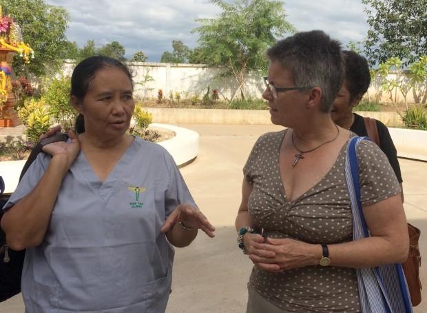 Møde med karenske flygtninge i Thailand